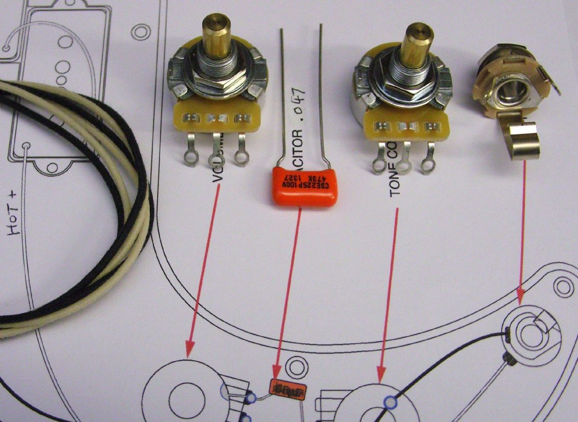 Precision Bass Wiring